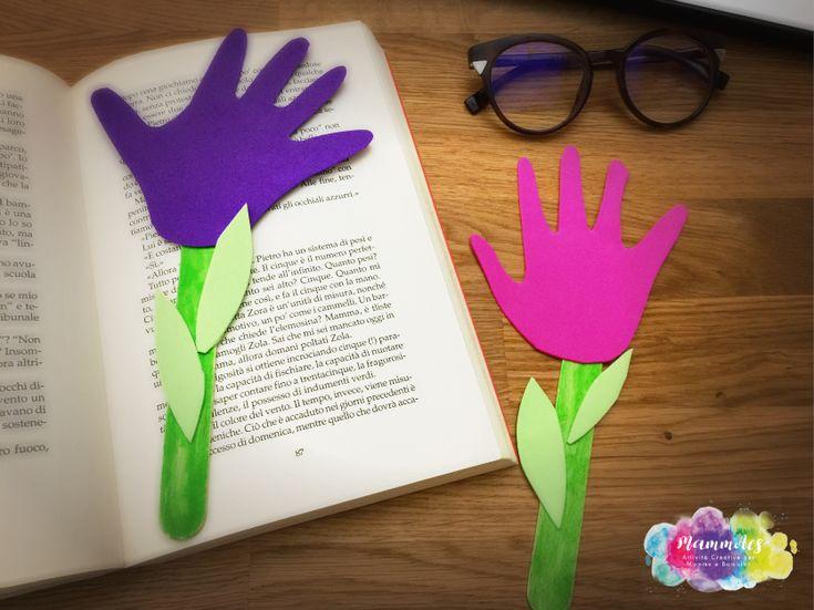 Segna libro fiore