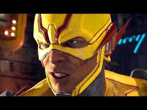 (2) Flash Vs. Reverse Flash Fight Scene - Injustice 2 (Justice League 2017) - YouTube