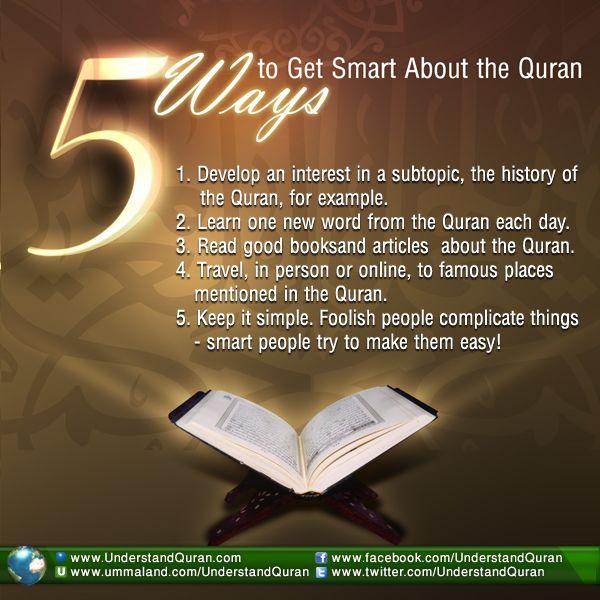5 Ways to Get Smart About the Quran - Understand Quran Academy