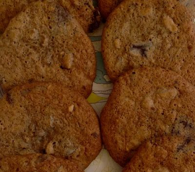 Colorful Fun Living: Cookies med chokolade og marshmallow fluff