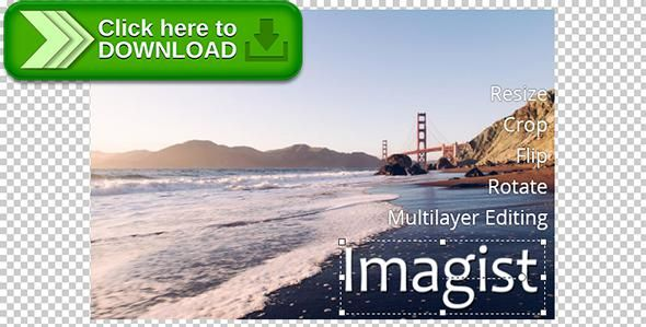 [ThemeForest]Free nulled download Imagist, Multilayer Image Editor Plugin for jQuery from http://zippyfile.download/f.php?id=46068 Tags: ecommerce, crop, flip, image crop, image editor, image editor plugin, jquery crop image, jquery image crop, jquery image cropper, jquery image editor, jquery image editor plugin, jquery photo editor plugin, jquery resize image, jquery scale image, resize, rotate