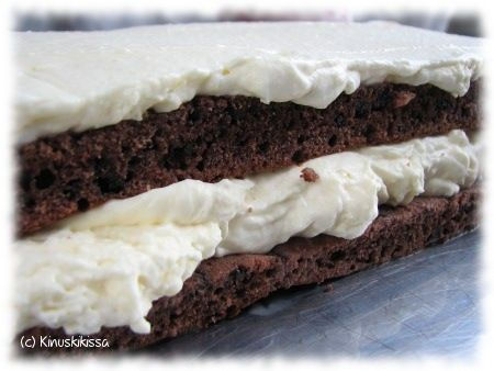 Vaniljavanukastäyte  Vaniljakreemijauheen sijasta voi halutessaan käyttää Vanhan ajan vaniljakastikejauhetta.  http://www.kinuskikissa.fi/kuukauden-vinkki-vaniljakreemijauhe/