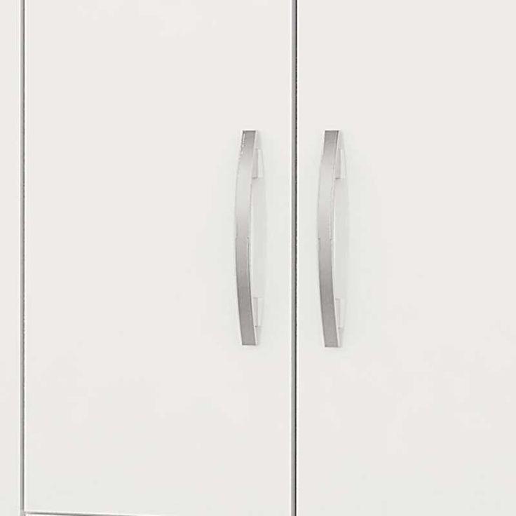Compre Guarda-Roupa Onix 4 Portas Plus - Colibri Branco | Lojas Marabraz