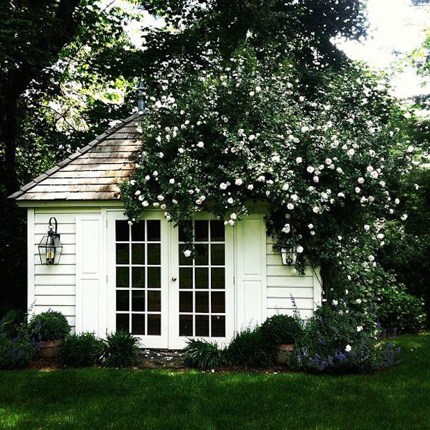 Stylish Garden Sheds - Best Backyard Storage Structures - House Beautiful