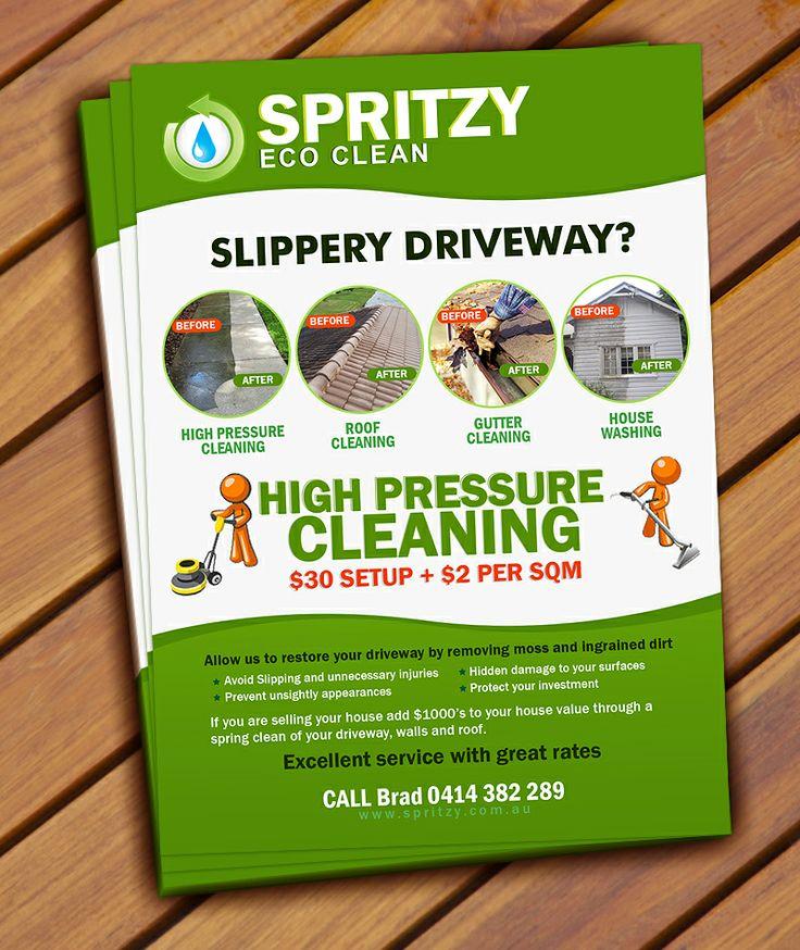 Spritzy Flyer Design