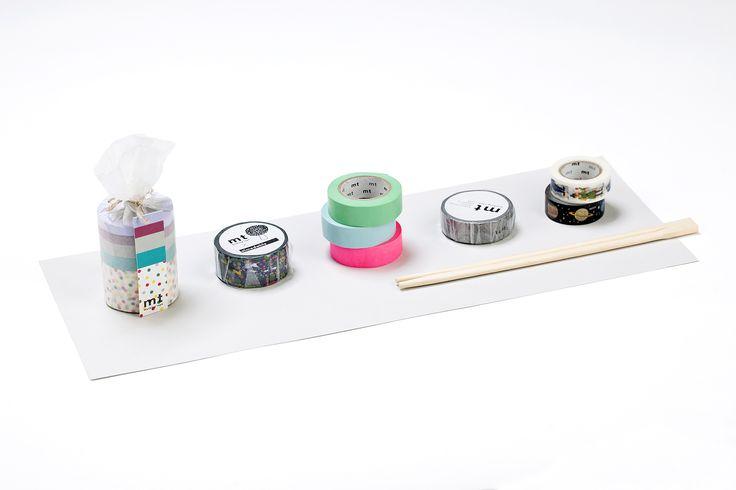 MT pásky, Mt tapes, washi tapes, japonské dekorační lepicí pásky z rýžového papíru, transparentní, popisovatelné, odnímatelné, designové, hravé dekorace, papelote - nové české papírnictví