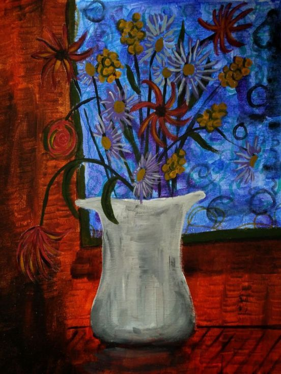 Buy Midnight Bouquet, Acrylic painting by mimulux patricia no on Artfinder. Discover thousands of other original paintings, prints, sculptures and photography from independent artists.