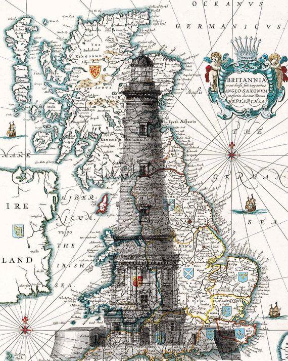 Impresión de Faro. Cartel de la casa de la luz por PrintLand                                                                                                                                                                                 Más