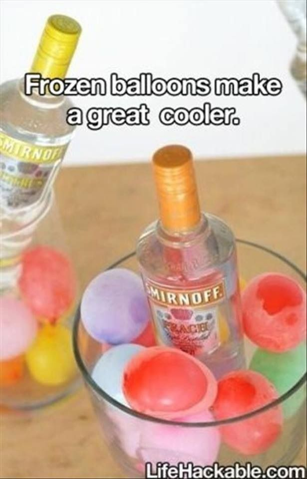 Great idea! Looks like a good idea for parties very cute.