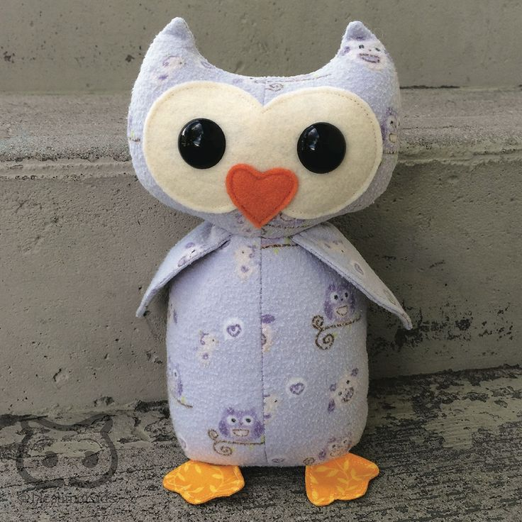 Keepsake Memory Owl: upcycled from your own fabric, sleepers, hospital blanket, baby clothes - Save your baby's favourite sleepers, coming-home outfit or blanket forever by having them made into a one of a kind keepsake owl stuffed animal!