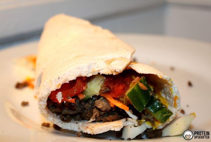 Low carb high protein tortilla wrap - glutenfree.