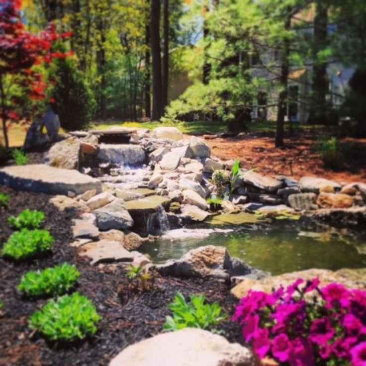 Best 25 pond design ideas on pinterest garden pond for Best koi pond design 2017
