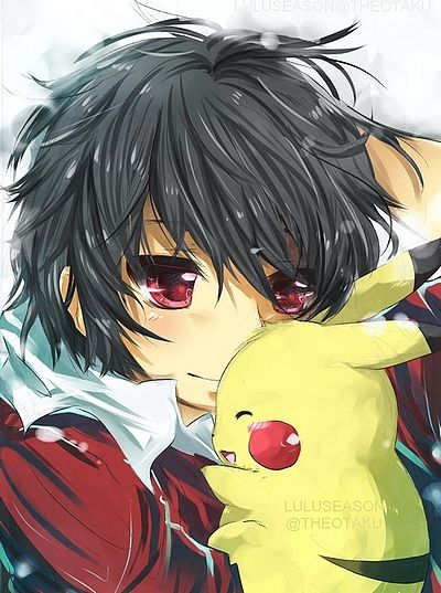 Ash and Pikachu. Together forever!