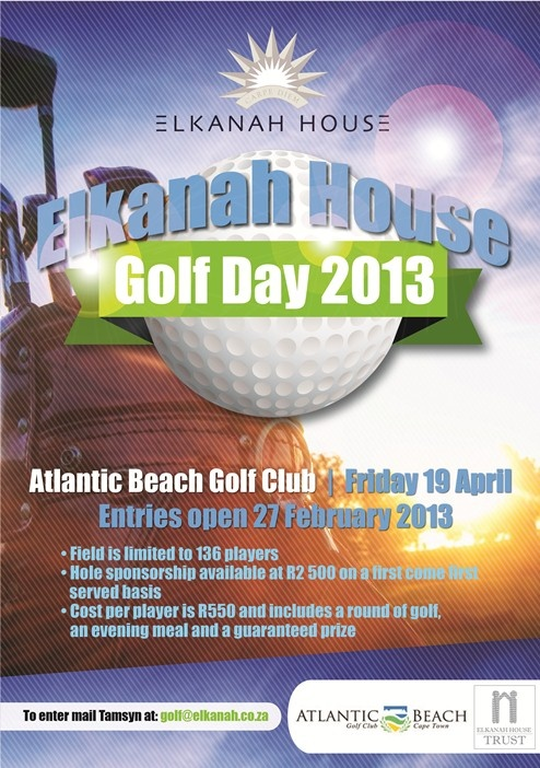 Support Elkanah House Golf Day.