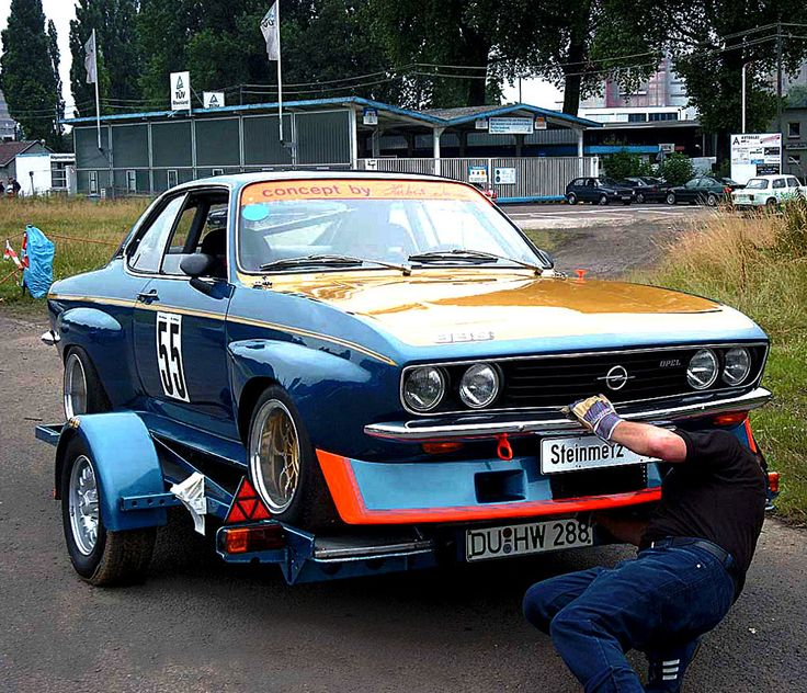 1974 Opel Manta A-series | Built by Steinmetz