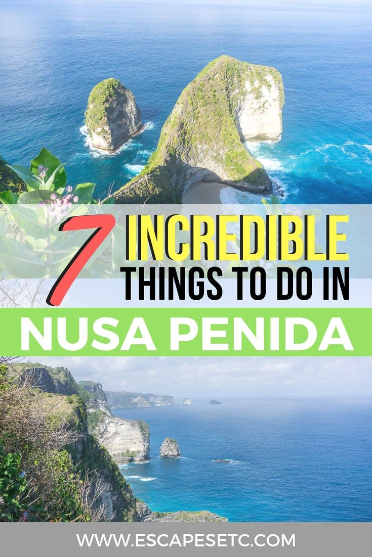 Trip Bali 7 Unmissable Things To Do In Nusa Penida In 3 Days The Ultimate