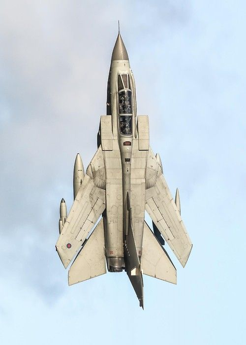 RAF Tornado GR4. These things were most feared by the Taliban in Afghanistan. They would come in under 200 feet and unleash hell.