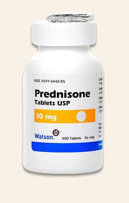 how much prednisone for ear infection