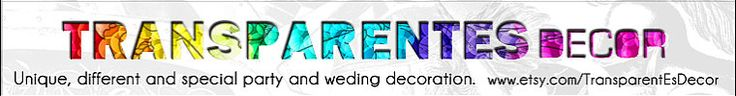 #partydecorations #garlands #babyshower #bridalshower #wedding #birthdayparty >> he name of the shop? TransparentEsDecor --> http://www.etsy.com/shop/TransparentEsDecor