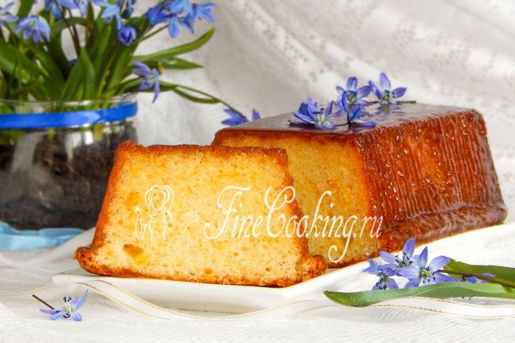 Апельсиновый кекс на рисовой муке