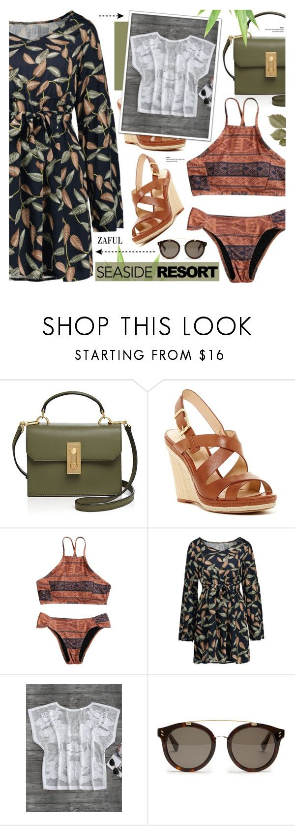 """""""Zaful 34"""" by cly88 ❤ liked on Polyvore featuring Flynn, Vince Camuto and STELLA McCARTNEY"""