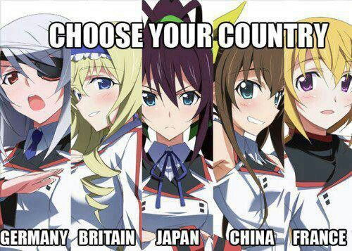All the above but Germany is my favorite