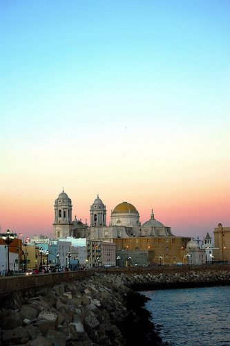 Cádiz, Spain One of my favorite cities where I loved to live and walk the streets endlessly..
