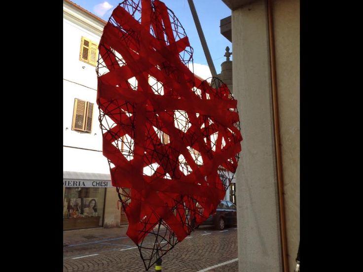 San Valentino dalla vetrina di Agostini