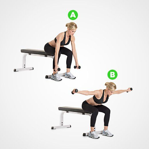 Seated Rear Lateral Raise  http://www.womenshealthmag.com/fitness/the-best-shoulder-workout?utm_source=facebook.com