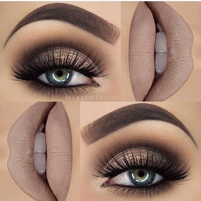 Stunning in every way! @makeupthang | #makeup