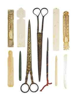 A COLLECTION OF CALLIGRAPHER'S IMPLEMENTS OTTOMAN TURKEY, 19TH CENTURY