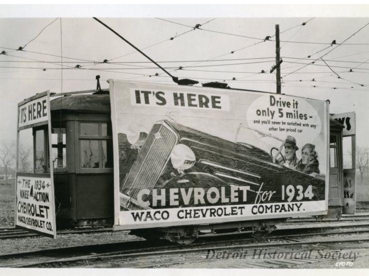 1934 Waco Chevrolet Company Dealership, Waco, Texas