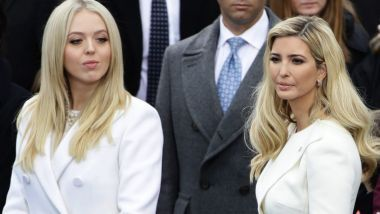 Donald Trump calls voter fraud probe but daughter Tiffany registered in two states. President Donald Trump's daughters, Tiffany (left) and Ivanka.