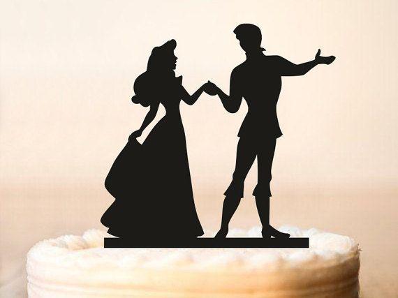 Principe e Principessa Cake Topper matrimonio cake di P2Topper