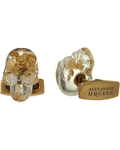 alexander-mcqueen-resina-trasp-gold-tone-leaf-skull-cufflinks-for-men-product-0-258402674-normal.jpeg (400×500)