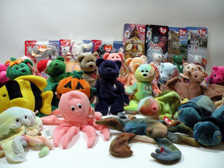 32x Valuable Retired TY Beanie Babies Collection Lot InkyClaudePeacePrincess!