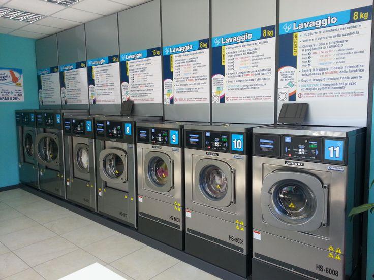 Lavanderia self service automatica Wash a Ciampino - frutto della nostra esperienza e del nostro impegno.