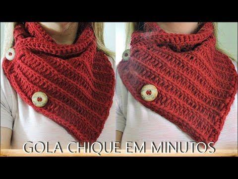 GOLA CHIQUE EM MINUTOS/DIANE GONÇALVES - YouTube