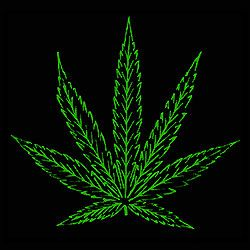 cannabis plant wallpaper black - photo #12
