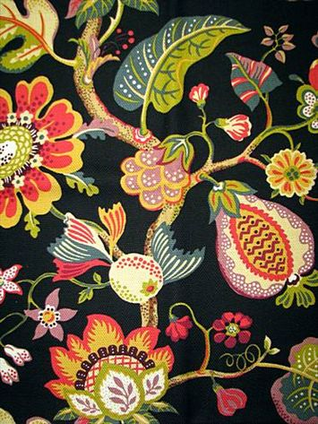 35 Best Images About Jacobean Flower Patterns On Pinterest