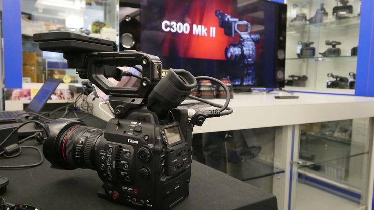 9 Ottobre 2015 alle ore 10.00 e alle ore 14.30 Canon EOS C300 Mark II: straordinaria qualità 4K, creatività e versatilità