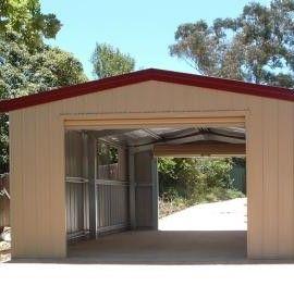Drive through garage for boat cabin ideas pinterest for Drive through garage door
