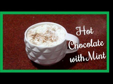 Hot Chocolate with Mint  Recipe: http://youtu.be/_EL6k32mPPw?list=PLKzua_x2TbRxiJqx22pkuie3SjLZrlGbY