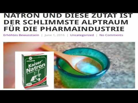 Der Alptraum für die Pharma! Natron und die Kombination mit dieser wunderbaren Zutat