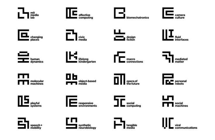 Media Lab's new identity merges two of MIT's most recognizable logos into one dynamic, adaptable design.