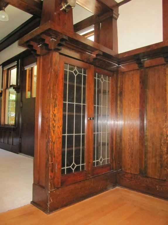 Awesome Craftsman Style Built In Cabinets