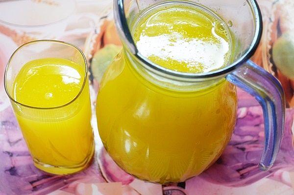 Полезный апельсиновый лимонад