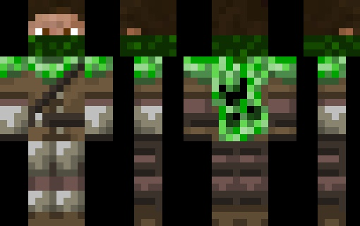 Creeper hunter - Minecraft Skins | minecraft | Pinterest ...