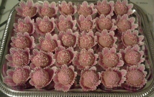 Roze cakepops
