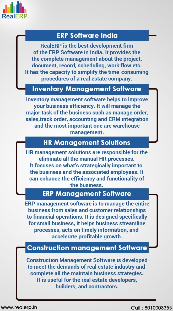ERP Software India creates solutions for professionals in real estate and permits them to focus on the competition in the property development. The firm caters an innovative real estate software solution which forecasts market changes and the variety of solutions to accommodate a global response.   Get More Detail Visit Website: http://www.realerp.in/real-erp-software-india.html  Visit Twitter Profile: https://twitter.com/realerpnoida